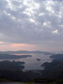 高知山夕景