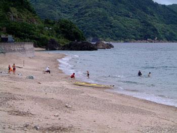 須子茂小海開き